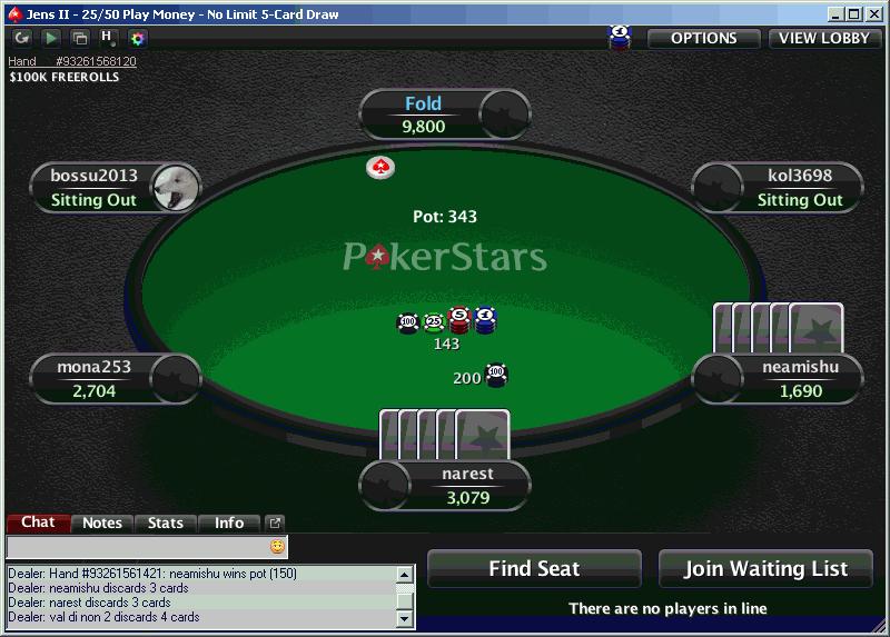 tavolo da gioco online card draw