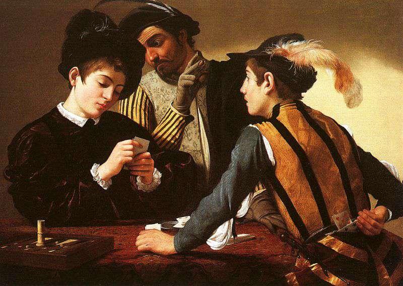 Caravaggio, i bari