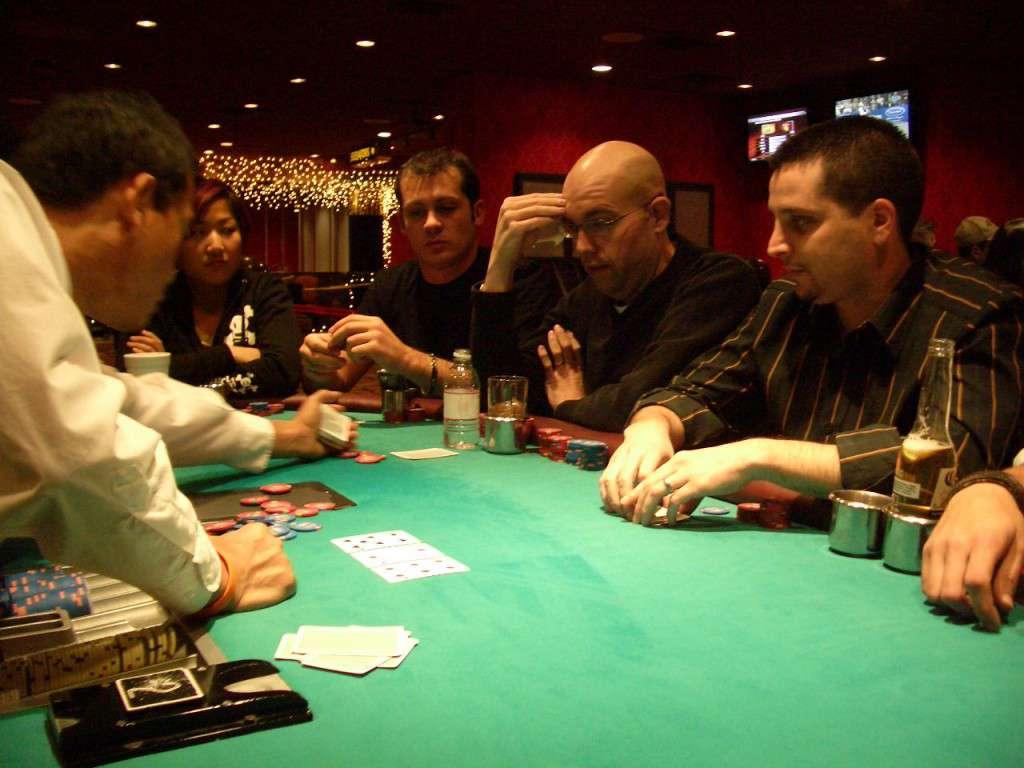 posizione al tavolo da poker
