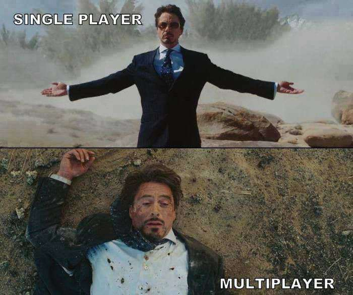 SinglePlayer vs Multiplayer