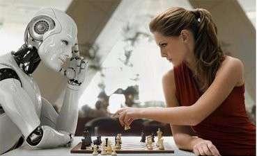 robot-intelligente-che-gioca-a-scacchi