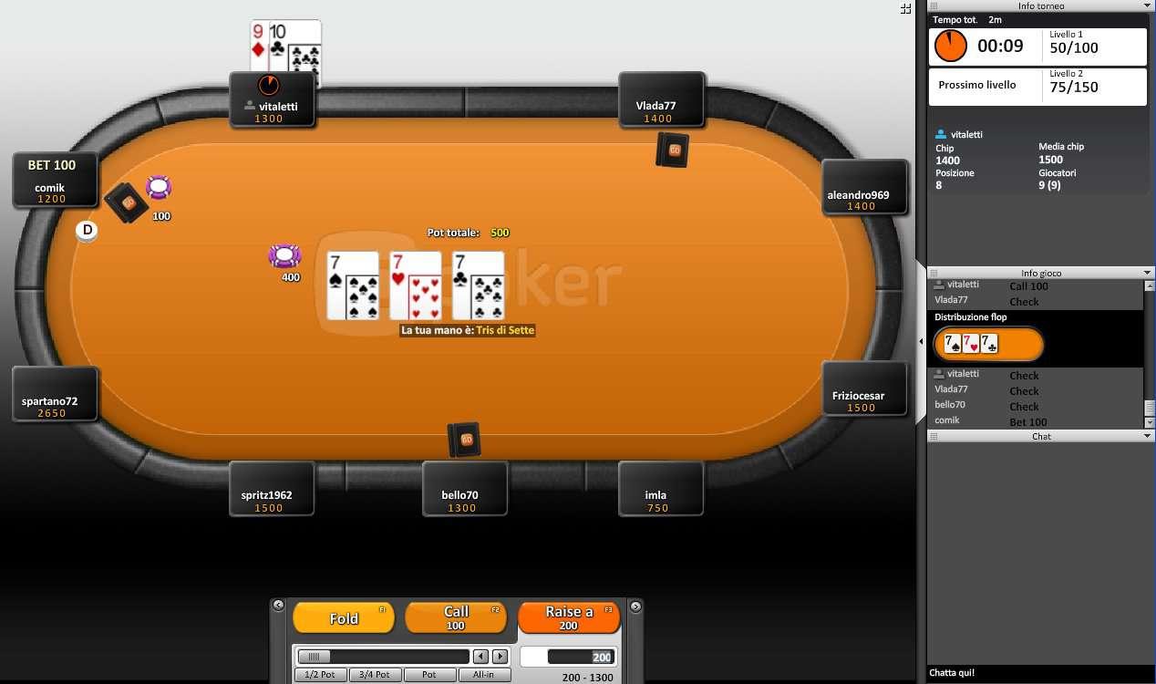 Classifica migliori poker room on line