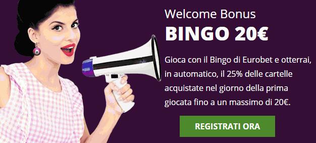 Eurobet Bingo Bonus