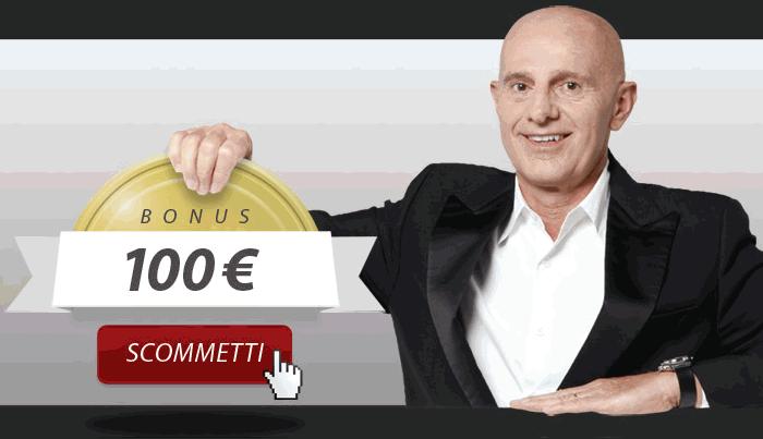 Bonus di Benvenuto del 100% fino a €100