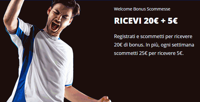 eurobet welcome bonus
