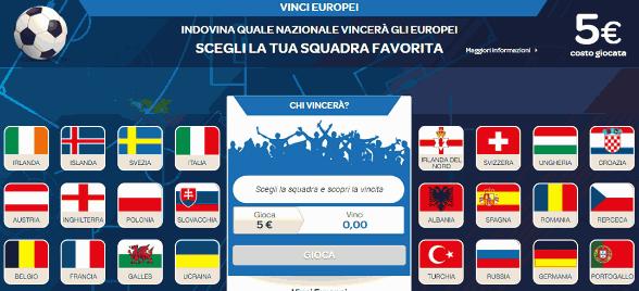 speciale europeo sisal vinci nazionale