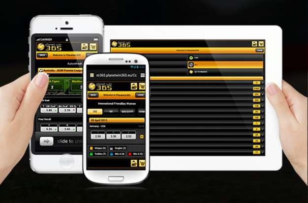 piattaforma su mobile