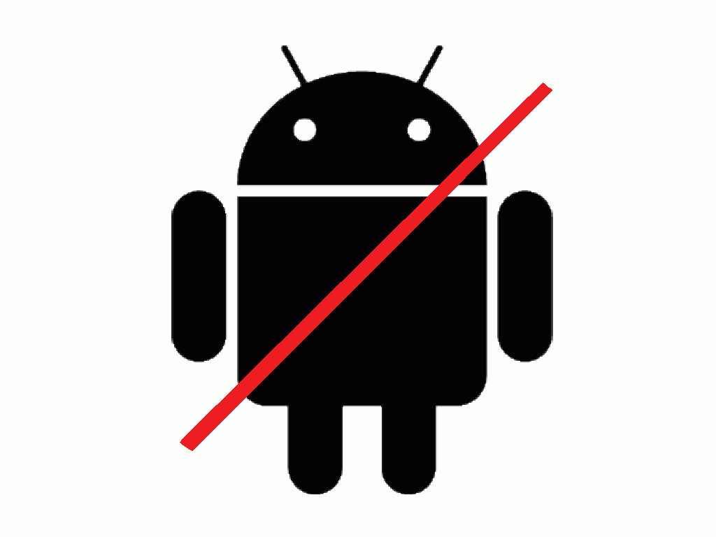 no android app