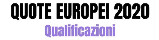 Calendario Europei2020.Euro 2020 Qualificazioni Pronostici Quote E I Migliori