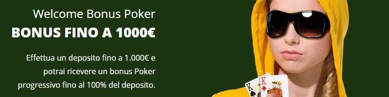 bonus poker eurobet