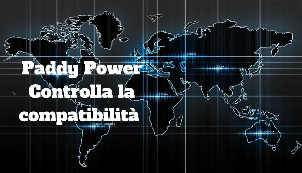 Paddy Power compatibilità