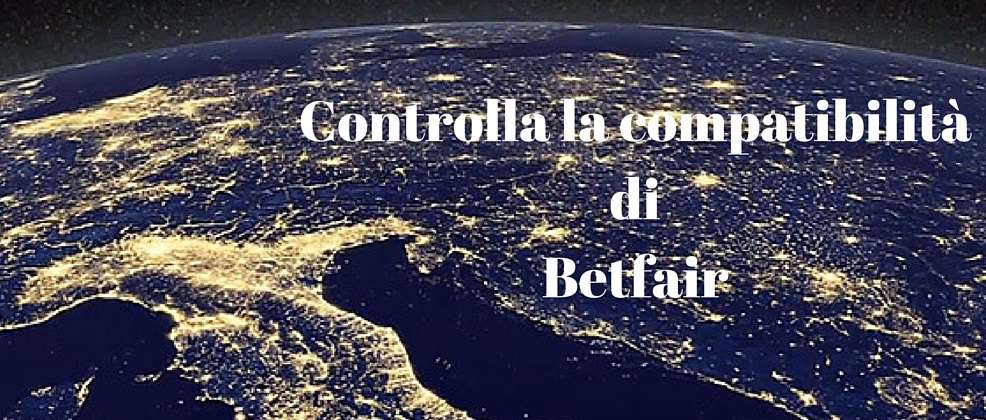 compatibilità Betfair