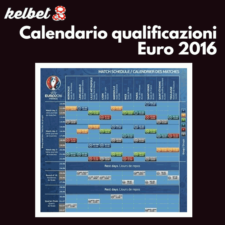 kelbet.it calendario euro 2016