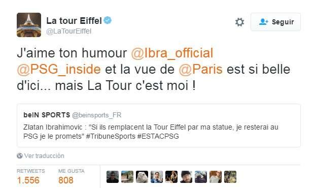 tweet T Eiffel