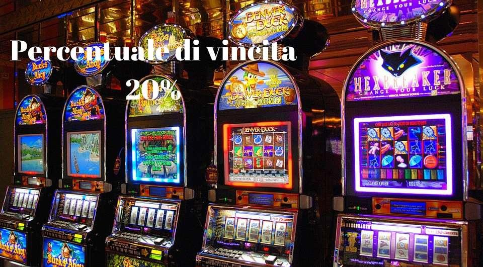 Slot machine vincita massima