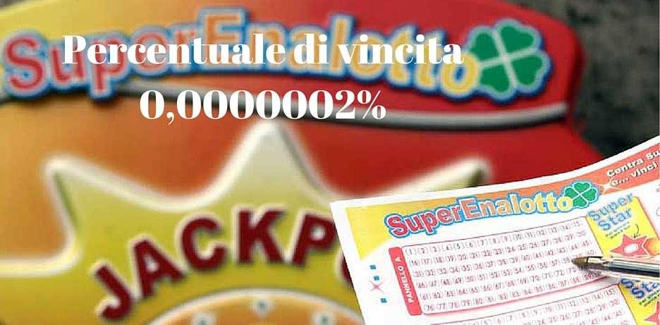 % superenalotto