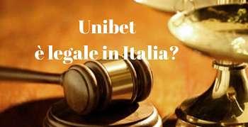 Scommettere legalmente: Unibet è sicuro e legale in Italia?