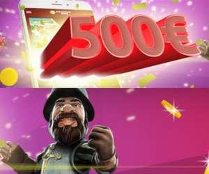 Fino a 500€ di bonus Casino con il codice promozionale Merkur win