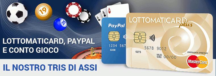 pagamenti e prelievi lottomatica