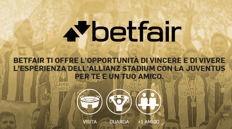 betfair concorso allianz stadium juve