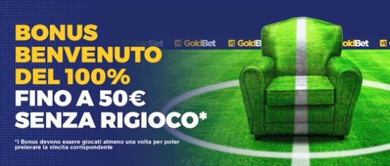 codice promozione Goldbet