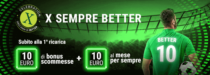 bonus registrazione lottomatica better