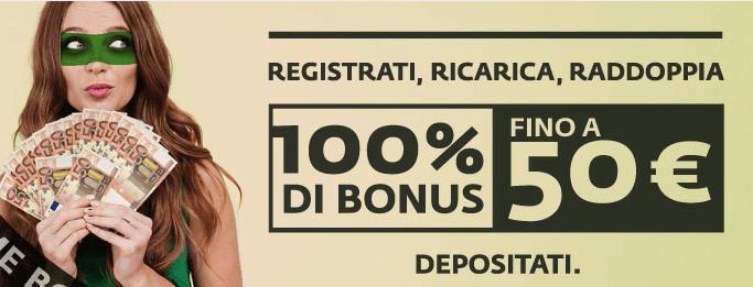 betaland bonus benvenuto scommesse