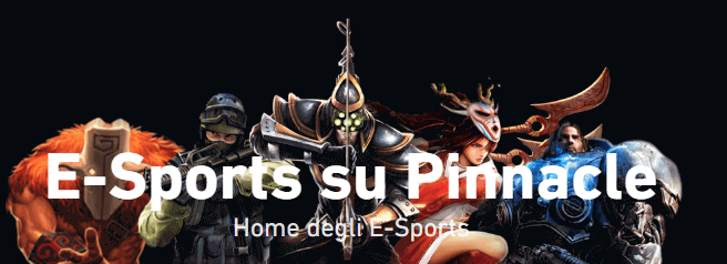 esports pinnacle italia