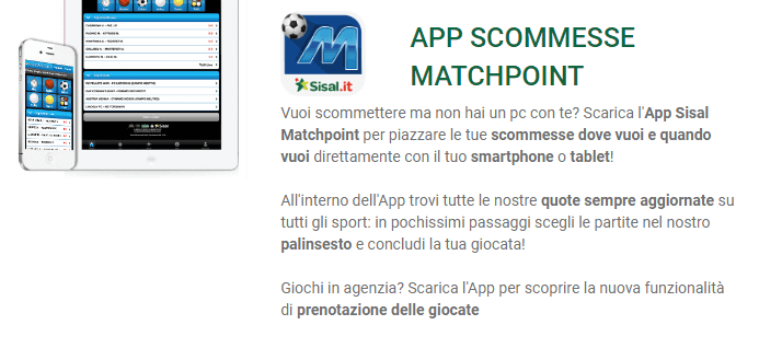 app sisal matchpoint