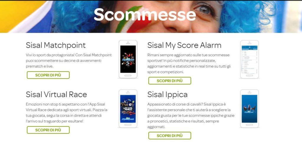 mobile app scommesse