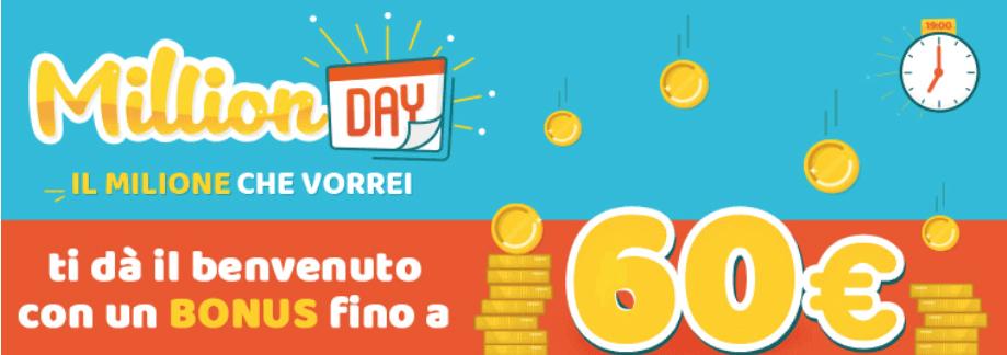 million day lottomatica