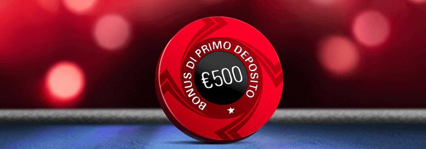 codice bonus pokerstars
