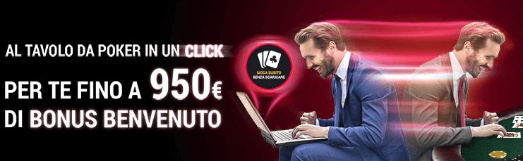 bonus lottomatica poker
