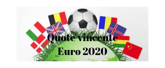 Guida alle quote sulla squadra vincente degli Europei di calcio 2020